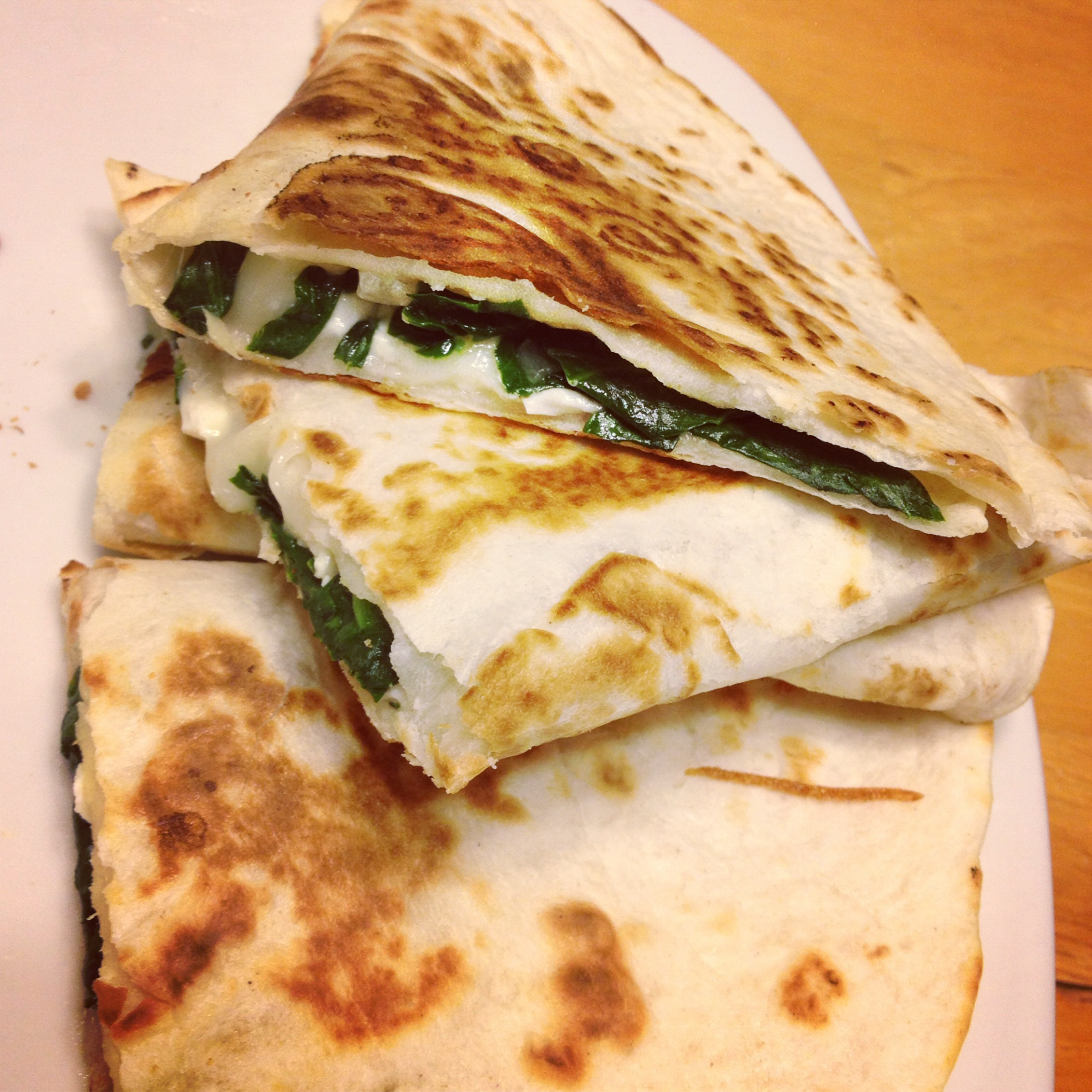 with roasted spinach and feta quesadillas and feta quesadilla spinach ...